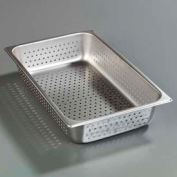 "Carlisle 607004P - Durapan™ Light Gauge Full-Size Perforated Pan 20-3/4"" x 12-3/4"" - Pkg Qty 6"