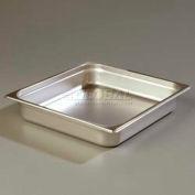 """Carlisle 607232 - DuraPan™ Light Gauge Two-Thirds Size Pan, 13-7/8"""" x 12-3/4"""""""
