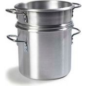 Carlisle 60934 - Double Boiler W/Insert, 20 Qt., Aluminum