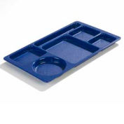 Carlisle 61514 - Omni-Directional Space Saver Tray, Blue - Pkg Qty 24