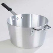 Carlisle 61707 - Tapered Sauce Pan W/ Removable Dura-Kool™ Sleeves 8.5 Qt., Aluminum - Pkg Qty 6