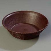 Carlisle 652401 - Weavewear™ Round Basket 1.6 Qt., Brown - Pkg Qty 12