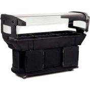 Carlisle 771103 - Maximizer™ Food Bar 6 Ft., Black