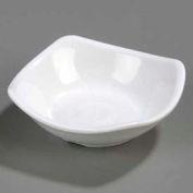 """Carlisle 794002 - Small Square Dish 3-1/2"""", White - Pkg Qty 48"""