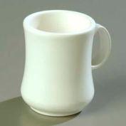 "Carlisle 800402 - Diablo Mug 8 Oz., 4-1/8"", White - Pkg Qty 36"