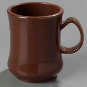 "Carlisle 810401 - Diablo Ii Mug 8 Oz., 4-1/8"", Brown - Pkg Qty 36"