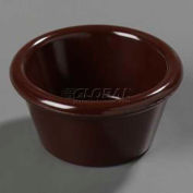 Carlisle 85269 - Ramekin, Smooth 2 Oz., Chocolate, 085269