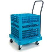 Carlisle C2236H14 - Warewashing Rack Dolly, Blue