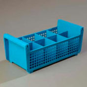 Carlisle C32P114 - Opticlean™ Flatware Basket Without Handles, Carlisle Blue - Pkg Qty 6