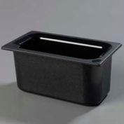 "Carlisle CM110203 - Coldmaster® 6"" Deep Third-Size Food Pan, Black"