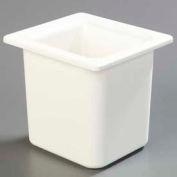"Carlisle CM110502 - Coldmaster® 6"" Deep High Capacity Sixth-Size Food Pan, White"