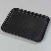 "Carlisle CT101403 - Cafe® Standard Tray 10"" x 14"", Black - Pkg Qty 24"