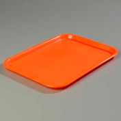 "Carlisle CT101424 - Cafe® Standard Tray 10"" x 14"", Orange - Pkg Qty 24"