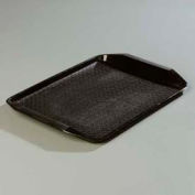 "Carlisle CT121703 - Cafe® Handled Tray 12"" x 17"", Black - Pkg Qty 24"