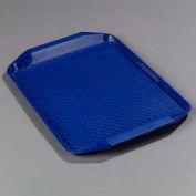 "Carlisle CT121714 - Cafe® Handled Tray 12"" x 17"", Blue - Pkg Qty 24"
