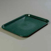 """Carlisle CT141808 - Cafe® Standard Tray 14"""" x 18"""", Forest Green - Pkg Qty 12"""