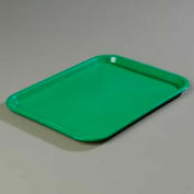 "Carlisle CT141809 - Cafe® Standard Tray 14"" x 18"", Green - Pkg Qty 12"