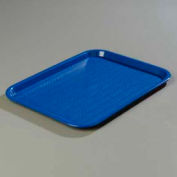 "Carlisle CT141814 - Cafe® Standard Tray 14"" x 18"", Blue - Pkg Qty 12"