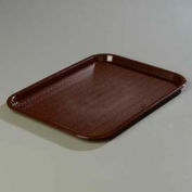 "Carlisle CT141869 - Cafe® Standard Tray 14"" x 18"", Chocolate - Pkg Qty 12"
