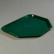 """Carlisle CT1713TR08 - Cafe® Trapezoid Tray 18"""", 14"""", 13/16"""", Forest Green - Pkg Qty 12"""