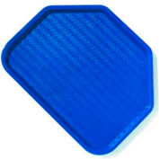 "Carlisle CT1713TR14 - Cafe® Trapezoid Tray 18"", 14"", 13/16"", Blue - Pkg Qty 12"