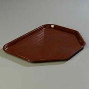 "Carlisle CT1713TR69 - Cafe® Trapezoid Tray 18"", 14"", 13/16"", Chocolate - Pkg Qty 12"