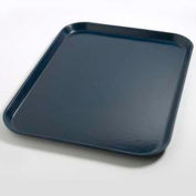 "Dinex DX1089I50 - Flat Tray, 14"" x 18"", 12/Cs, Dark Blue"