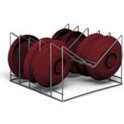 """Dinex DX1173XC10 - Drying Cradle Insert For 1173 Series, 18""""L 17-1/2""""D 10-1/2""""H, Stainless Steel"""