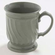 Dinex DX300084 - Turnbury® Insulated Pedestal Base Mug, 8 Oz. 48/Cs, Sage