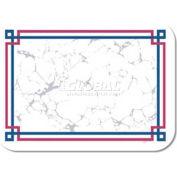 "Dinex DX5220MR - Avanti Design Tray Cover W/Straight Edge Round Corner, 13-5/8""x18-3/4"", 1000/Cs"