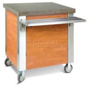 """Dinex DXDST4 - Dinexpress® Solid Top Counter, 63""""L x 30""""D x 36""""H, Stainless Steel"""
