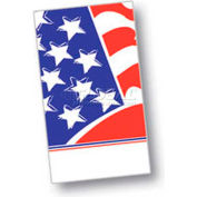"Dinex DXHR601DN01 - Stars & Stripes Design Dinner Napkins, 15"" x 17"", 1000/Cs"