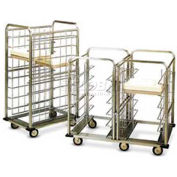 """Dinex DXICSU152036 - Suspended Cart Tray, 15"""" x 20"""", Stainless Steel"""