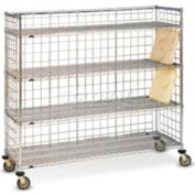 """Dinex DXIRDSIF - Full Size Drying Rack For Insulated Trays, 72"""" Wide, Stainless Steel"""