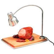"Carlisle HL8195B00 - FlexiGlow™ Single Arm Heat Lamp W/ Board 24"" Arm, Aluminum"