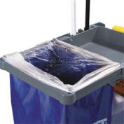 Carlisle JC194614 - Replacement Bag For Janitorial Cart JC1945, Blue