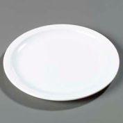"Carlisle KL20502 - Kingline™ Bread & Butter Plate 5-15/32"" x 19/32"", White - Pkg Qty 48"