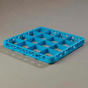 Carlisle RE1614 - Opticlean™ 16-Compartment Divided Glass Rack Extender, Blue - Pkg Qty 6