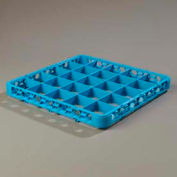 Carlisle RE2514 - Opticlean™ 25-Compartment Divided Glass Rack Extender, Carlisle Blue - Pkg Qty 6