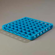 Carlisle RE4914 - Opticlean™ 49-Compartment Divided Glass Rack Extender, Carlisle Blue - Pkg Qty 6