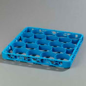 Carlisle REW20S14 - Opticlean Newave 20-Compartment Glass Rack Extender, Carlisle Blue - Pkg Qty 6