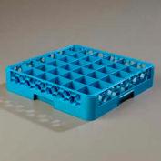 Carlisle RG3614 - Opticlean™ 36 Compartment Glass Rack, Carlisle Blue - Pkg Qty 6