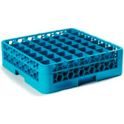 Carlisle RG49-114 - Opticlean™ 49-Compartment Glass Rack W/ 1 Extender, Carlisle Blue - Pkg Qty 4