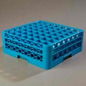 Carlisle RG49-214 - Opticlean™ 49-Compartment Glass Rack W/ 2 Extenders, Carlisle Blue - Pkg Qty 3