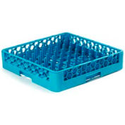 Carlisle RTP14 - Opticlean™ Tall Peg Plate & Tray Rack, Carlisle Blue - Pkg Qty 6