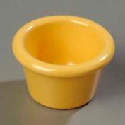 Carlisle S27522 - Smooth Ramekin 1.5 Oz., Honey Yellow - Pkg Qty 48