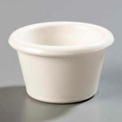 Carlisle S27542 - Smooth Ramekin 1.5 Oz., Bone, 48 Ea. - Pkg Qty 48