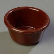 Carlisle S28069 - Smooth Ramekin, 3 Oz., Chocolate