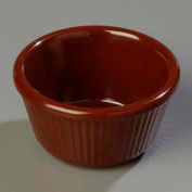 Carlisle S28769 - Fluted Ramekin 4 Oz., Chocolate - Pkg Qty 48