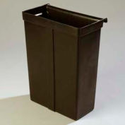 Carlisle SBC11TC03 - Trash Container for Service Cart (SBC230), Black